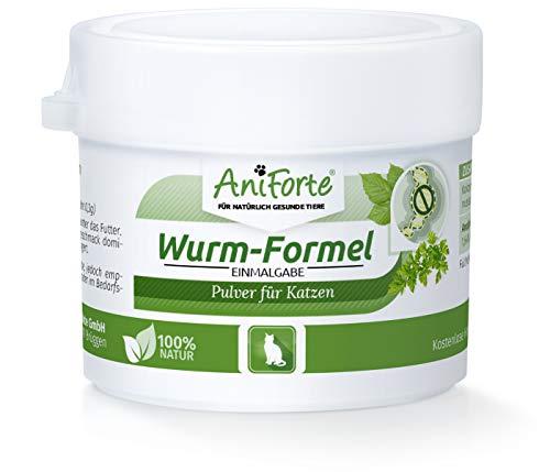 AniForte Wurm-Formel, natürliche Einmalgabe für Katzen