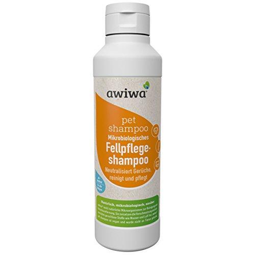 awiwa® Katzenshampoo, langes Fell & Kurzhaar,100% Bio