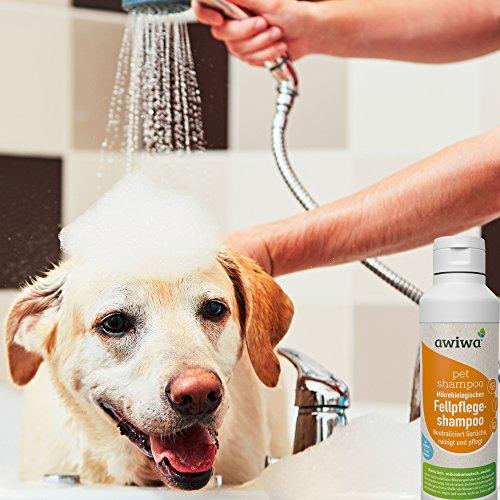 awiwa® Hundeshampoo& Katzenshampoo für langes Fell und Kurzhaar - 100% Bio - 2