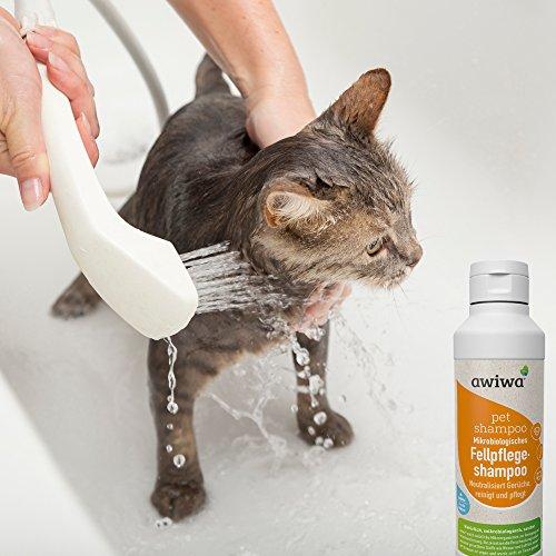 awiwa® Hundeshampoo& Katzenshampoo für langes Fell und Kurzhaar - 100% Bio - 3