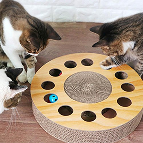 Househome Katzenkratzbrett Spielzeug
