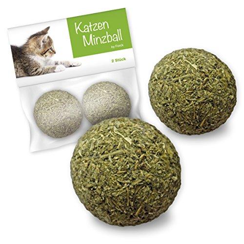 Forck Katzenminze-Ball Katzenspielzeug 2 Stück