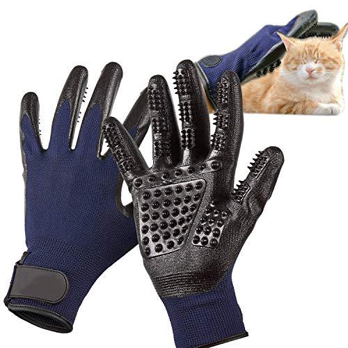 Pet Bürste Handschuh für Katzenhaare lang und kurz