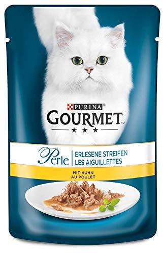 Purina GOURMET Perle: Katzennassfutter, 24er Pack