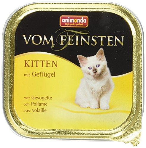 Animonda Vom Feinsten Kitten, Nassfutter mit Geflügel