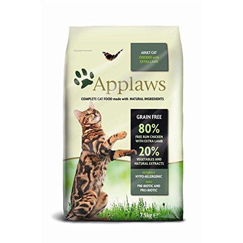 Applaws Katze Trockenfutter Hühnchen mit Lamm (7,5 kg)