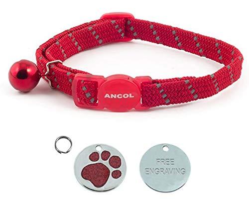 Carlton Ancol Katzen-Halsband, reflektierend, elastisch