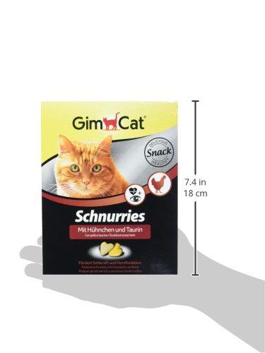 GimCat Schnurries | herzförmiger Katzensnack mit funktionalen Inhaltsstoffen | Taurin für Herz und Augen - 5