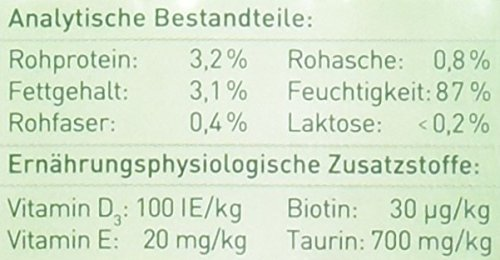 Dehner Cativia, prebiotische Katzenmilch, 4 Flaschen (4 x 95 ml) - 2