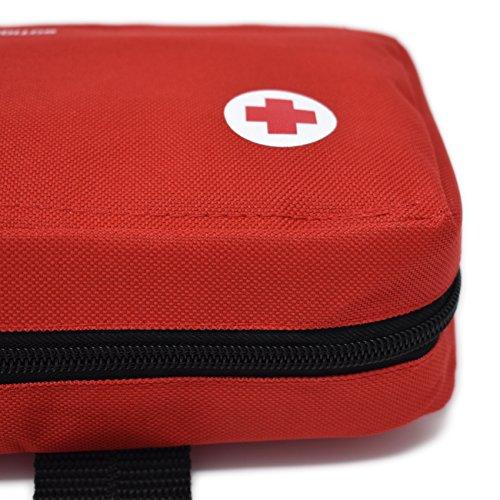 Erste-Hilfe-Kit für Haustiere (enthält ANTISEPTISCHE LÖSUNG, PHYSIOLOGISCHEN SERUM, RETTUNGSDECKE, Shaver.) (Nylon) - 7