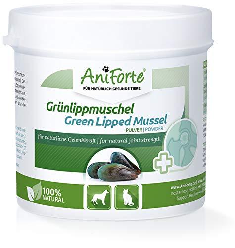 AniForte Grünlippmuschel-Pulver 100g für Hunde & Katzen