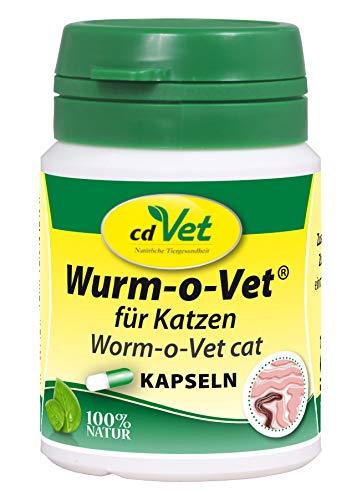 cdVet Naturprodukte Wurm-o-Vet Katze 12 Kapseln