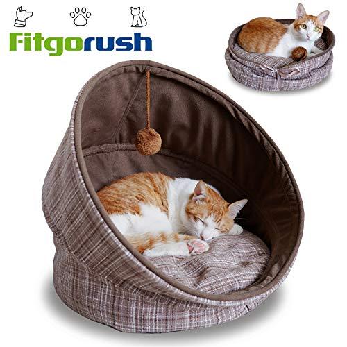 Fitgorush Katzenbett und Sofa inkl. Kissen