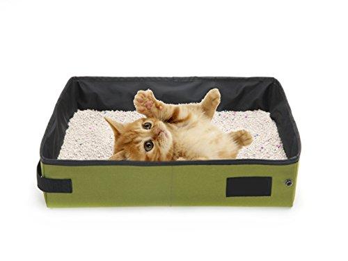 Faltbare Katzentoilette, tragbar, wasserdicht