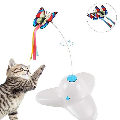 Elektronisch drehendes Katzenspielzeug, Schmetterling