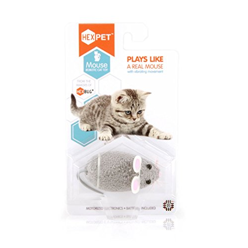 HEXBUG 503502 - Mouse Cat Toy grau, Elektronisches Spielzeug - 2