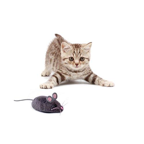 HEXBUG 503502 - Mouse Cat Toy grau, Elektronisches Spielzeug - 3