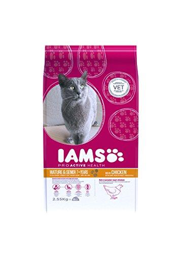 Iams Senior Trockenfutter (für ältere Katzen ab 7 Jahre)