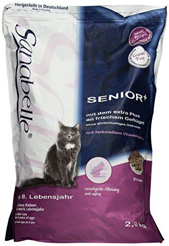 Sanabelle Senior Katzenfutter, 1er Pack (1 x 2 kg)