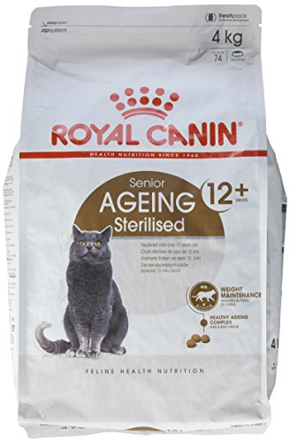 Royal Canin Feline Sterilised +12, 1er Pack (1 x 4 kg)