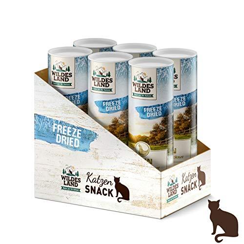 Wildes Land | Freeze Dried Snack für Katzen | Huhn