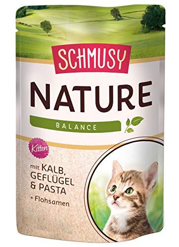 Schmusy Katzenfutter Nature Balance für Kitten