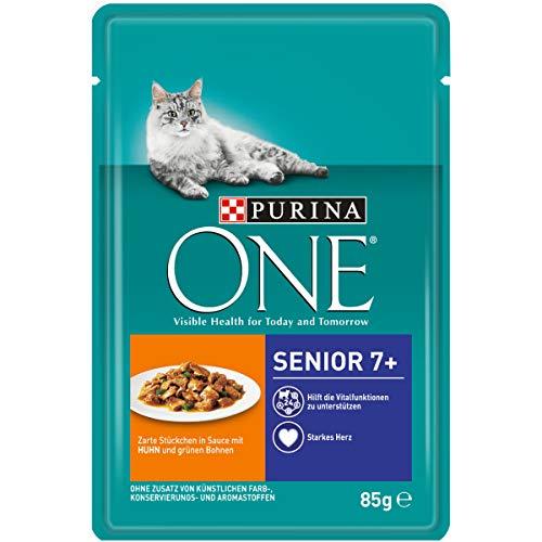 Purina ONE Katzennassfutter, hochwertige Katzennahrung