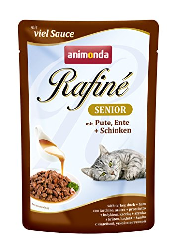 animonda Rafiné Senior Katzenfutter, Nassfutter