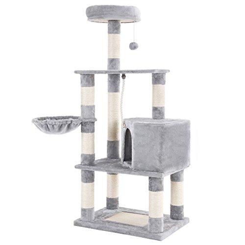 SONGMICS Kletterbaum für Katzen, 148 cm hoch