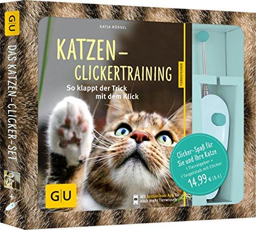 Katzen-Clickertraining-Set: So klappt der Trick mit dem Klick.