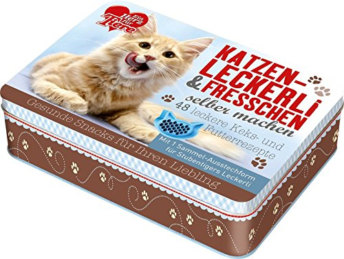 """""""Ein Herz für Tiere"""" Katzenleckerli & Fresschen selber machen"""
