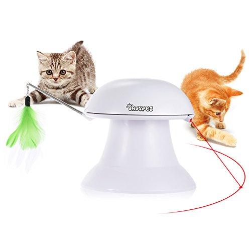 DADYPET Katzen Federspielzeug, Katzenspielzeug Elektrisch