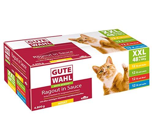 Dehner Gute Wahl Katzenfutter Adult, Multipack XXL