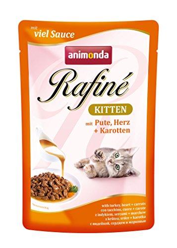 Animonda Rafiné Kitten Katzenfutter, Nassfutter, 12 x 100 g