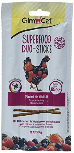 GimCat Superfood Duo-Sticks mit Hühnchen