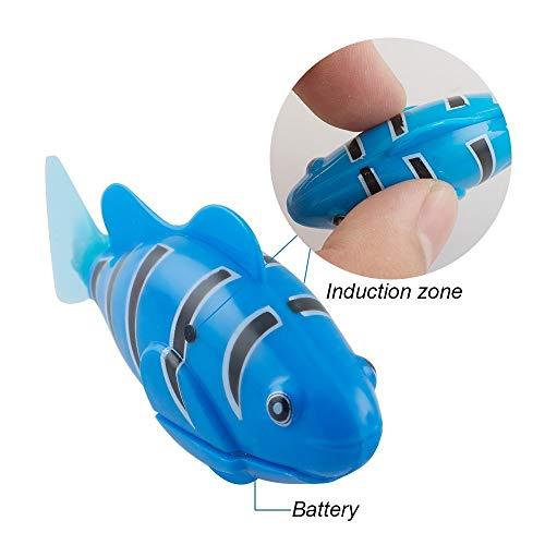 Katze Spielzeug, 4 STÜCKE Elektrische Künstliche Bewegung Fische Katze Necken Spielzeug Kätzchen Spielzeug - 5