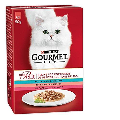 Gourmet Mon Petit Katzennassfutter Fisch-Variationen