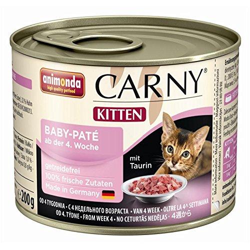Animonda Carny Kitten Baby-Paté - 6 x 200 g