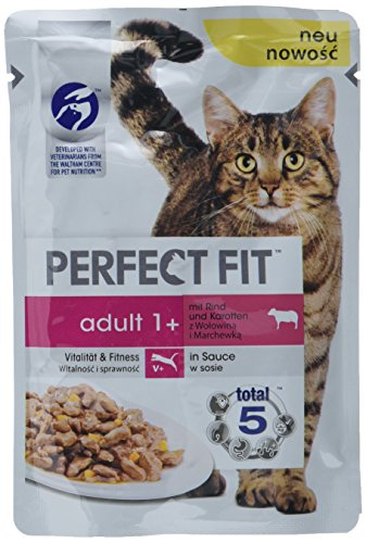 Perfect Fit Katzen-/Nassfutter Adult 1+ (12 x 85 g)