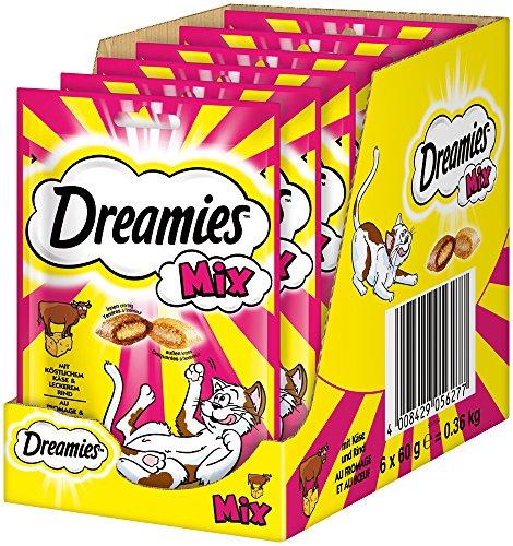 Dreamies Katzensnacks Mix mit Käse und Rind