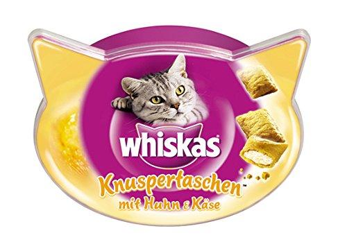 Whiskas Knusper-Taschen Huhn & Käse 8 x 60g