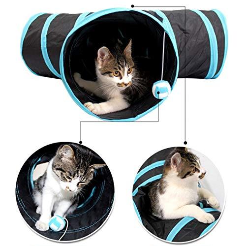 Legendog 20 STÜCKE Katze Spielzeug Set, Lustige Ausübung Katze Interaktives Spielzeug Kätzchen Feder Spielzeug - 4