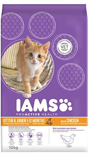 Iams Kitten Trockenfutter (bis 12 Monate), 10 kg Beutel