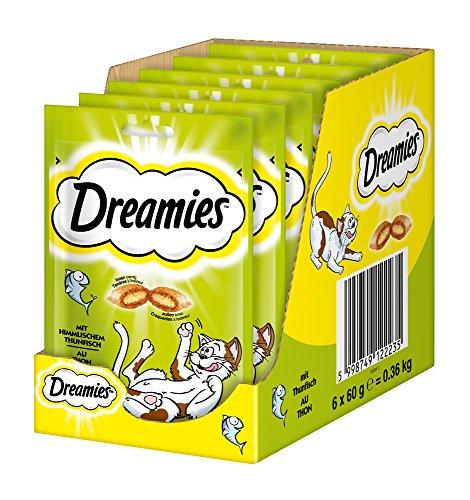 Dreamies Katzensnacks Klassiker mit Thunfisch, 6 Beutel