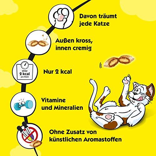 Dreamies Katzensnacks/Klassiker Klassiker, mit Thunfisch, 6 Beutel (6 x 60 g) - 4