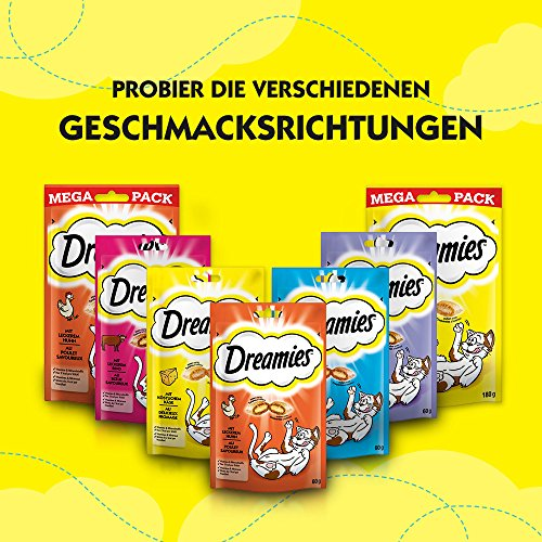 Dreamies Katzensnacks/Klassiker Klassiker, mit Thunfisch, 6 Beutel (6 x 60 g) - 6