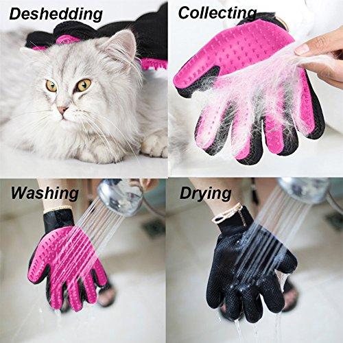 Ontoi | Professioneller Tierhaar Handschuh zur Entfernung Loser Tierhaare | Langhaar & Kurzhaar - 6