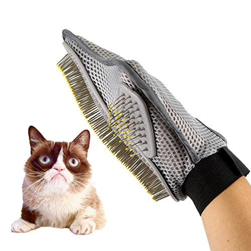 Generic Fellpflegehandschuh für Hunde/Katzen/Kaninchen