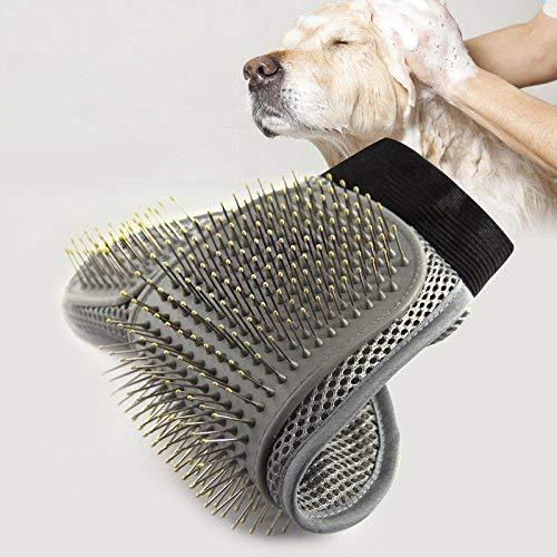 Generic Fellpflegehandschuh für Hunde/Katzen/Kaninchen/Fellpflege, 1 Stück - 2