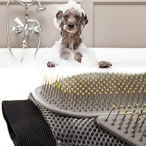 Generic Fellpflegehandschuh für Hunde/Katzen/Kaninchen/Fellpflege, 1 Stück - 6